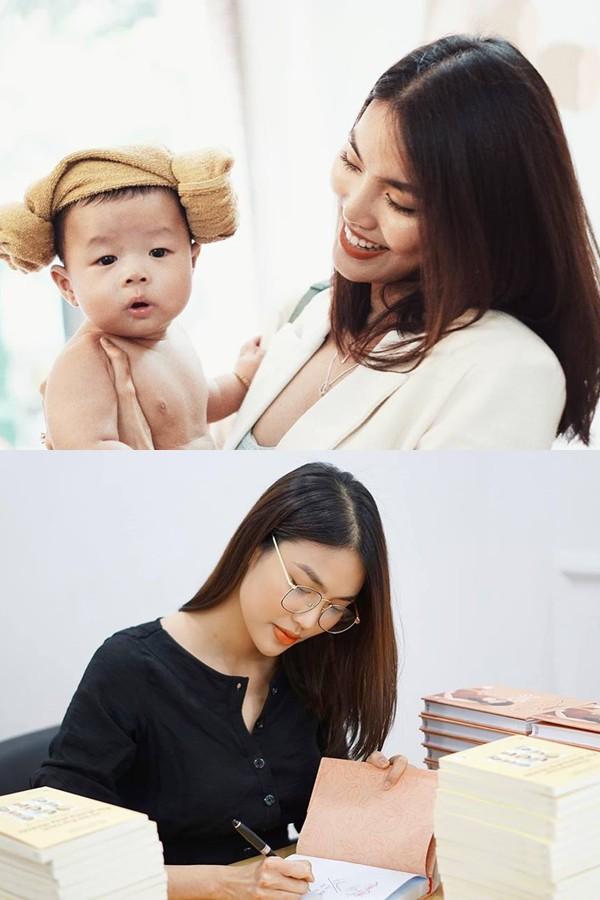 Lan Khuê cũng điều hành, quản lý một chuỗi spa dành cho em bé. Công việc kinh doanh mang đến cho cô nhiều trải nghiệm mới và thử thách bản thân nhiều hơn.