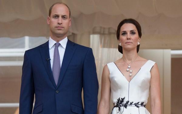 Vợ chồng hoàng tử William.