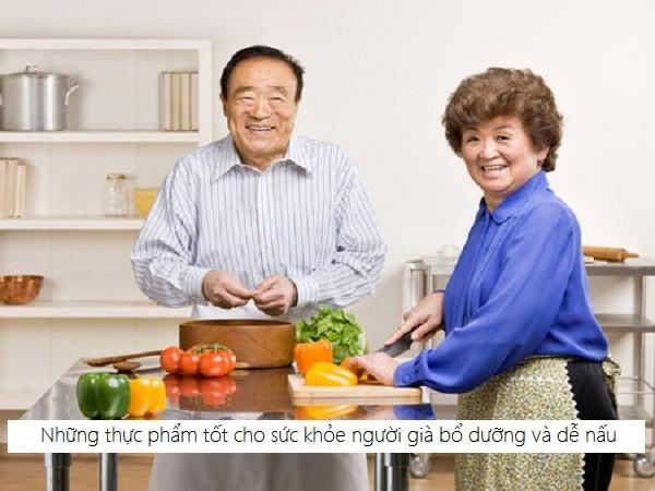 Những thực phẩm tốt cho sức khỏe, người cao tuổi nên ăn - Ảnh 1.