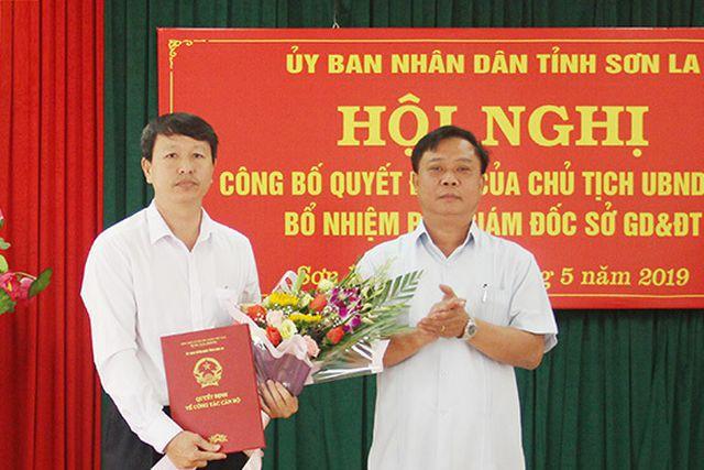 Ông Nguyễn Văn Chiến, Phó Chủ tịch UBND huyện Yên Châu được bổ nhiệm giữ chức vụ Phó Giám đốc Sở Giáo dục - Đào tạo. (Ảnh Báo Sơn La)