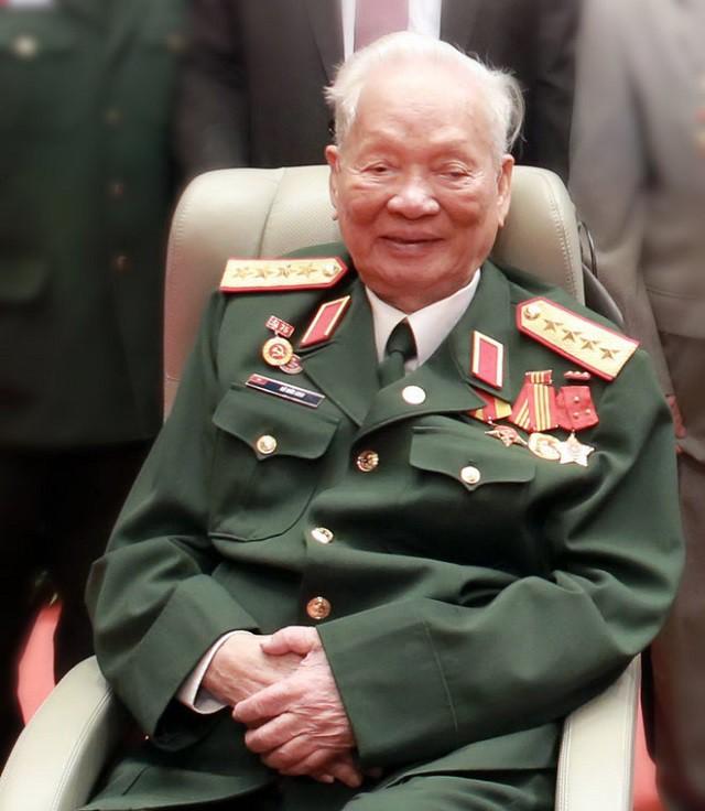 Nguyên Chủ tịch nước, Đại tướng Lê Đức Anh. Ảnh: Ngọc Thắng