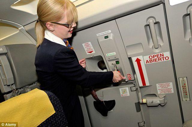Cửa thoát hiểm không thể mở khi máy bay đang bay