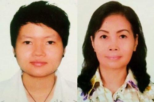 Hai trong số 4 phụ nữ liên quan đến vụ trọng án thi thể vùi trong bê tông vừa bị Công an tỉnh Bình Dương bắt giữ.