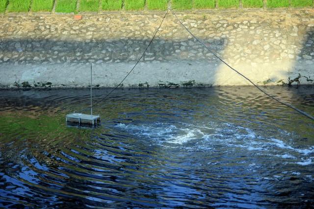 Nhiều cư dân Thủ đô đặt kỳ vọng vào những chiếc máy nhỏ nhắn có thể tái sinh dòng sông chết.
