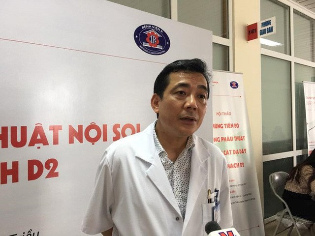 Ts Phạm Văn Bình cảnh báo về ung thư đại trực tràng.
