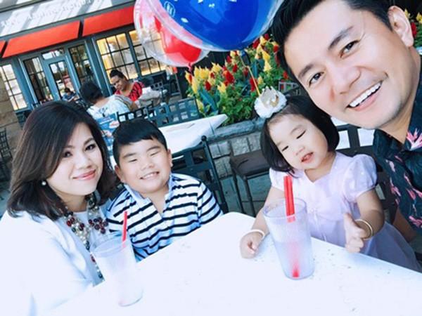 Gia đình hạnh phúc của diễn viên Trương Minh Cường
