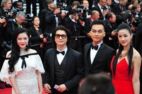 Lý Nhã Kỳ xuất hiện tại LHP Cannes năm 2013
