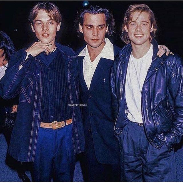 Thêm sự góp mặt của Johnny Depp, họ biến thành bộ 3 sát gái những năm 90.