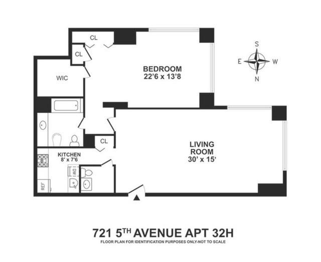 Theo đó, căn hộ của bà rộng 1.052 feet vuông và nằm ở góc đông nam của tòa nhà, nhìn ra Đại lộ số 5 và Phố Đông 56.