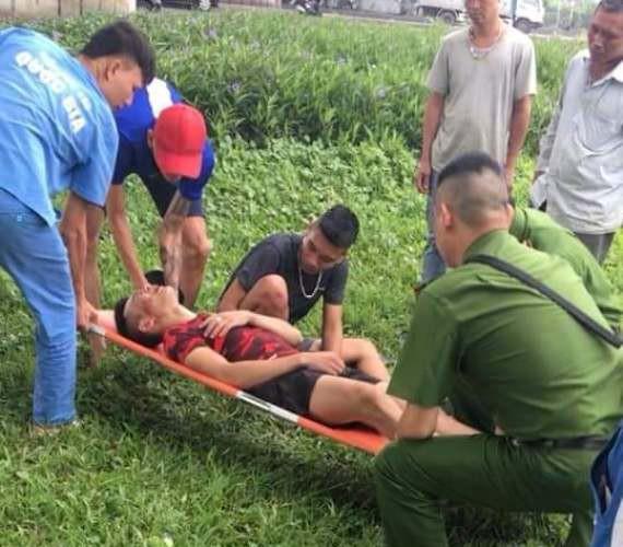Một số đối tượng bị thương sau khi 2 nhóm thanh niên đuổi đánh nhau