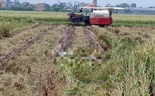 Đã xác định được danh tính nạn nhân tử vong cạnh máy gặt.