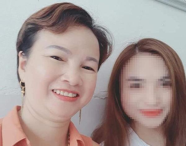 Bà Trần Thị Hiền và cô con gái bị sát hạt.