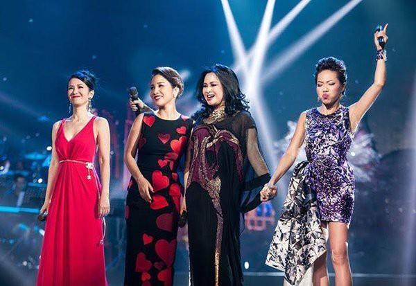 Hồng Nhung, Hà Trần, Thanh Lam và Mỹ Linh lâu nay vẫn được coi là Diva nhạc Việt