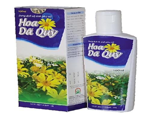 Sản phẩm Gel vệ sinh phụ nữ Hoa dã quỳ.