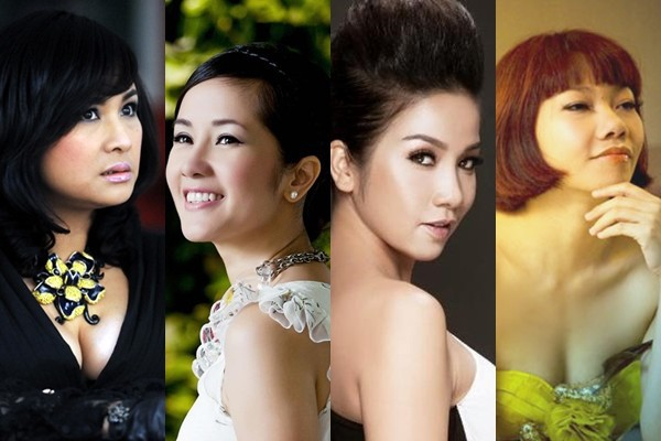 4 Diva nhạc Việt được khán giả công nhận