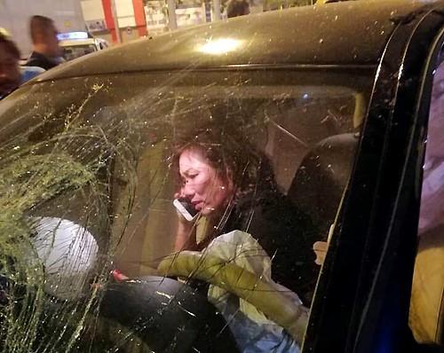 Bà Nga thời điểm gây tai nạn