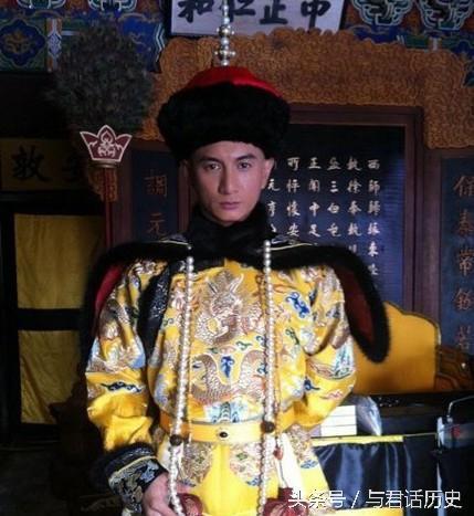 Hoàng đế Ung Chính bị đồn là chết không toàn thây. Ảnh phim truyền hình Trung Quốc.