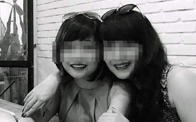 Chị Hải Yến (phải), một trong hai nạn nhân bị tử vong ở hầm Kim Liên (Hà Nội) do tài xế say rượu