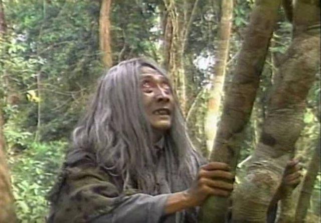 Diễn viên gạo cội Lê Bình gây tiếng vang lớn khi đảm nhận vai mụ yêu tinh trong phim cổ tích Mụ yêu tinh và bầy trẻ.