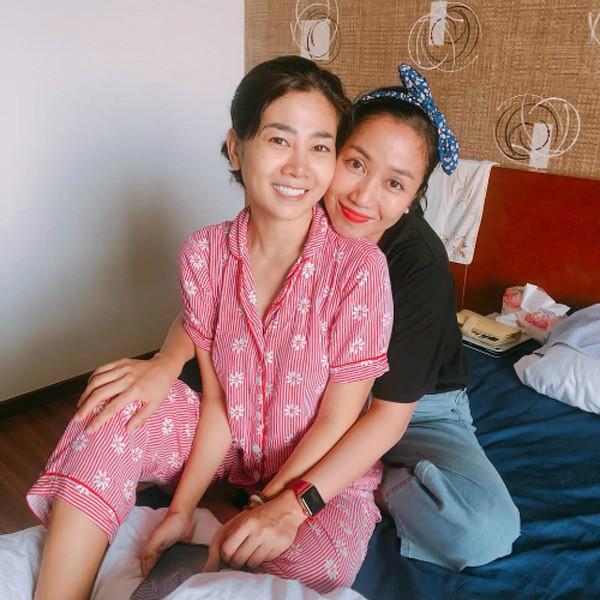 Ốc Thanh Vân luôn là người ở bên Mai Phương từ khi cô phát bệnh cho tới nay.