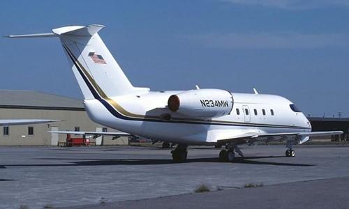 Một máy bay Bombardier Challenger 600. Ảnh: Fox.
