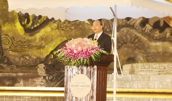 Thủ tướng Chính phủ Nguyễn Xuân Phúc phát biểu tại lễ kỷ niệm