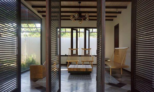 Phòng khách mang đậm phong cách thôn quê…