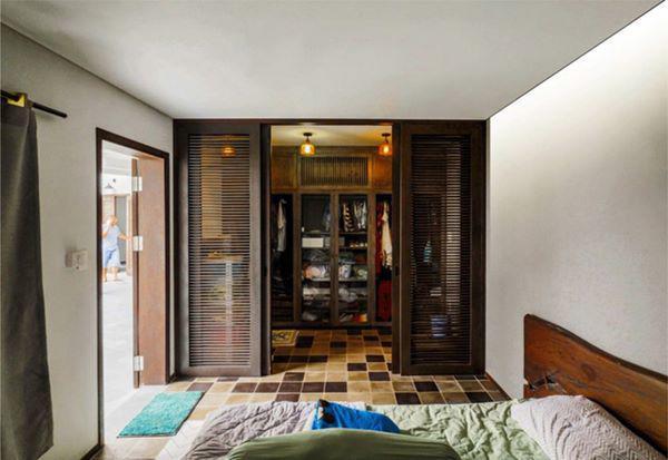 Mọi ngóc ngách của căn nhà đều mang lại không khí mát mẻ