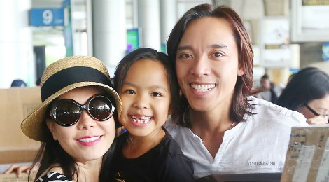 Gia đình nhỏ hạnh phúc của Việt Hương - Hoài Phương