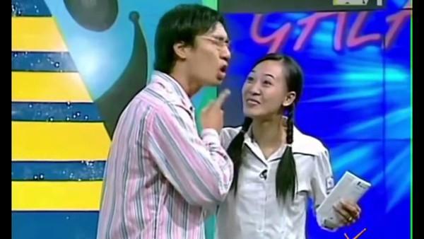 Phùng Khánh Linh trong tiểu phẩm Gặp nhau cuối tuần cách đây cả chục năm.