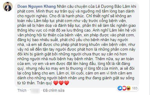 MC Nguyên Khang khuyên nhủ Lê Dương Bảo Lâm cực sâu sắc