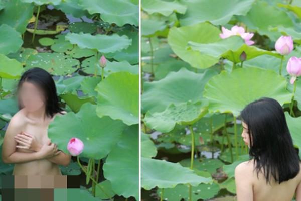 Hình ảnh gây xôn xao cộng đồng mạng của diễn viên phụ phim Siêu quậy