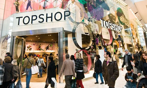 Topshop đã có nhiều năm kinh doanh không thuận lợi ở Australia, New Zealand, Tây Ban Nha, Trung Quốc và Mỹ. Ảnh: Guardian.