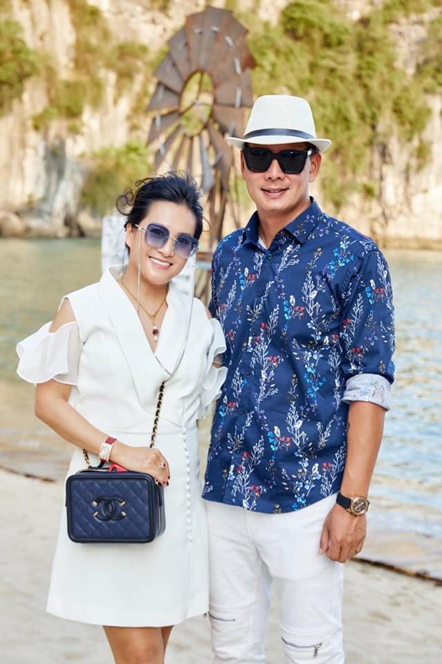 Bình Minh và bà xã Anh Thơ.