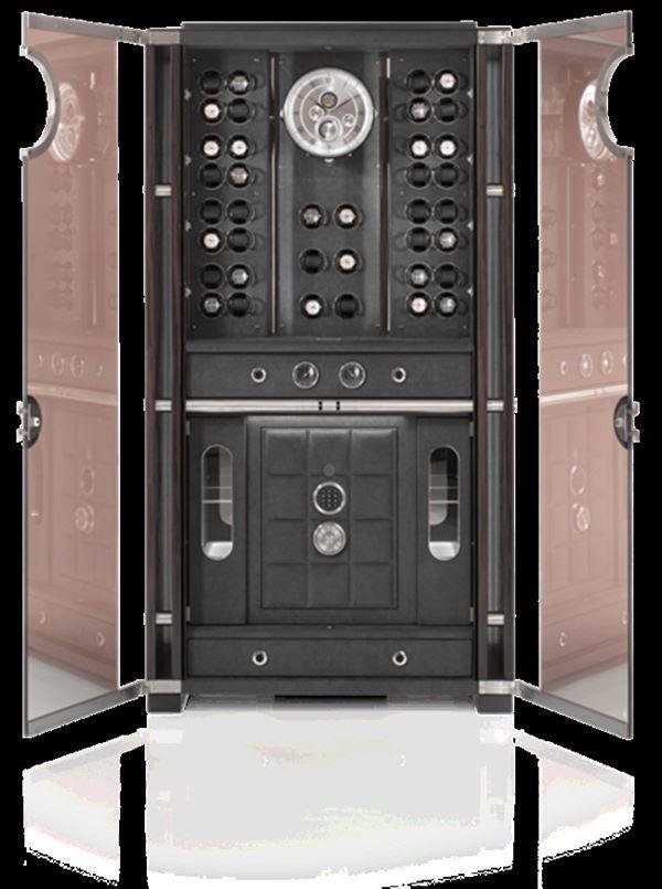 Với các gia đình giàu có, két sắt là vật bất ly thân. Đánh trúng nhu cầu của khách, công ty Buben & Zorweg đã cho ra đời sản phẩm két sắt Solitaire Vision.