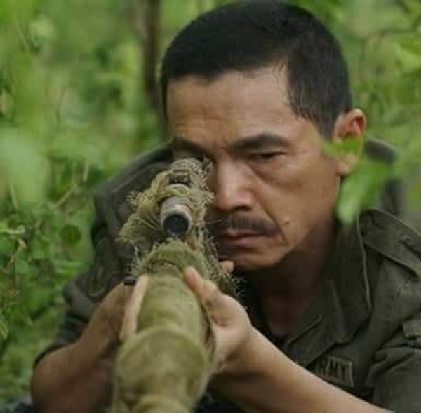 Hình ảnh Lương Bổng trong Người phán xử được NSƯT Trung Anh lấy làm ảnh đại diện.