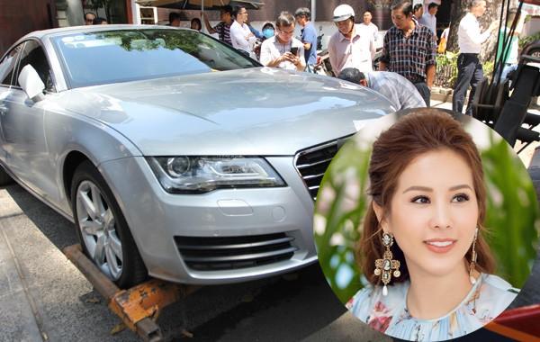 Tháng 2.2017, Hoa hậu Thu Hoài vướng ồn ào khi đỗ xe sai quy định, dẫn đến việc chiếc xe ô tô trị giá 4 tỷ đồng bị ông Đoàn Ngọc Hải đưa về phường. Từ đó, biệt danh hoa hậu bị cẩu xe gắn liền với cô.