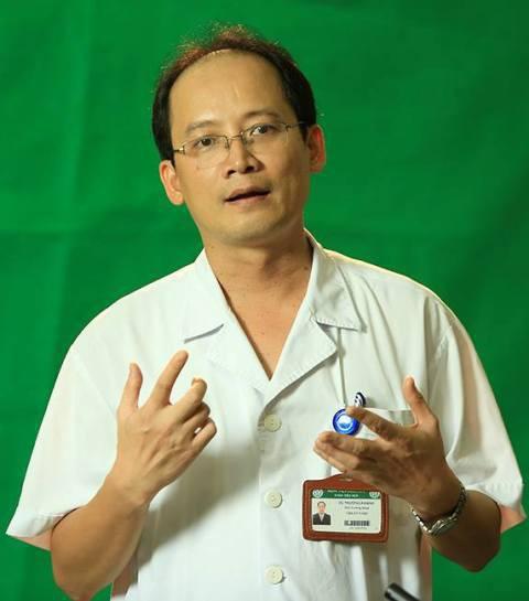 TS. Vũ Trường Khanh, Phó trưởng khoa Tiêu hoá, BV Bạch Mai.