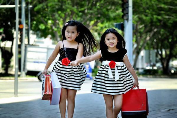 2 công chúa nhỏ là Misa và Misu của Mỹ Lệ
