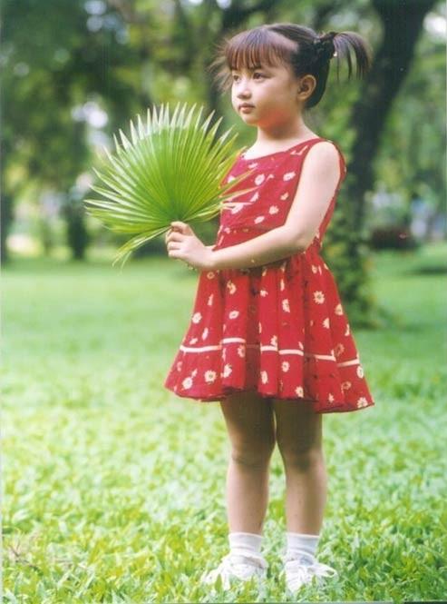 Xuân Nghi khi còn bé