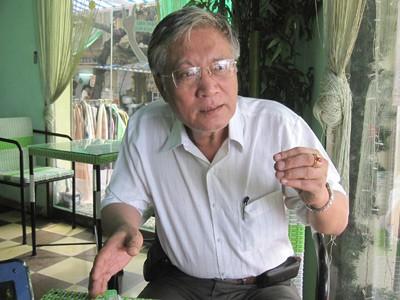 Nhà nghiên cứu Nguyễn Vũ Tuấn Anh, nguyên Giám đốc Trung tâm Lý học Đông Phương. Ảnh: Chí Cường.