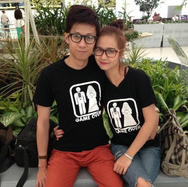 Vợ chồng Huyền Lizzie - Lynh Hoàng. Cả hai từng là cặp đôi nhận được rất nhiều tình cảm từ công chúng.