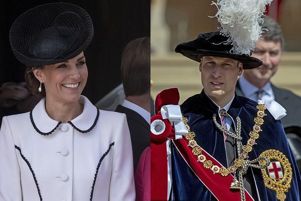 Vợ chồng Hoàng tử William - Công nương Kate.