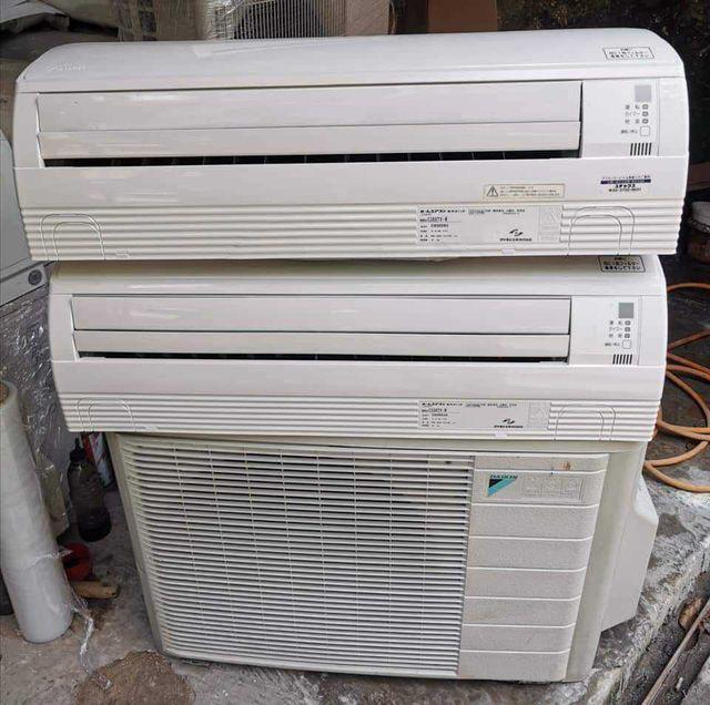 Điều hoà 1 cục nóng 2 giàn lạnh (Nguồn: Facebook)