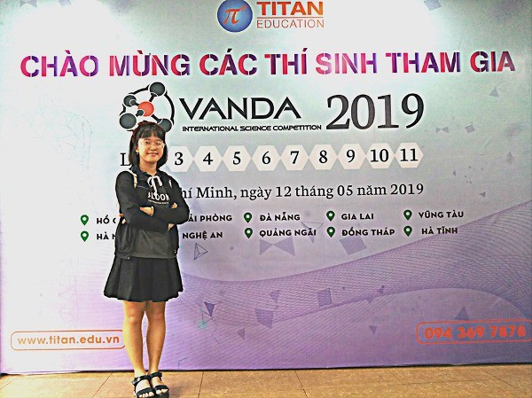 Bảo Ngân sẽ sang Malaysia dự toán IJMO và cuộc thi Khoa học (VANDA) vào cuối tháng 7
