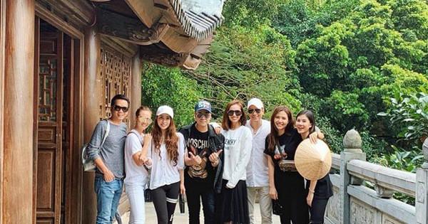 Chỉ vì một bức ảnh diễn viên Việt Anh chụp chung với nhóm bạn thân trong đó có cả Quỳnh Nga mà họ vướng vào tin đồn đang hẹn hò.