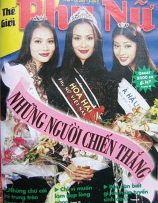 Trần Bảo Ngọc là chân dài đăng quang Hoa hậu Phụ nữ Việt Nam qua ảnh năm 2000.