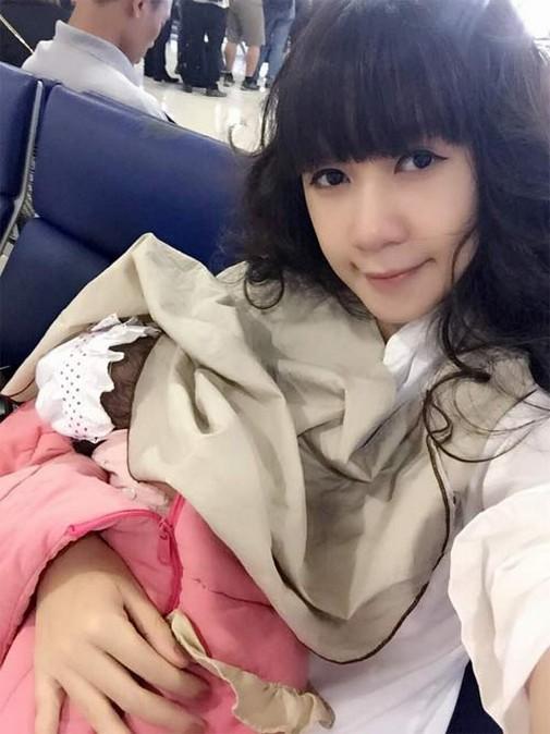 Minh Hà sinh cho ca sĩ Lý Hải 4 người con.