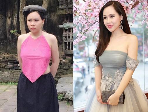 Trương Phương đóng vai bà cán bộ xã Tí Hin trong phim Thương nhớ ở ai