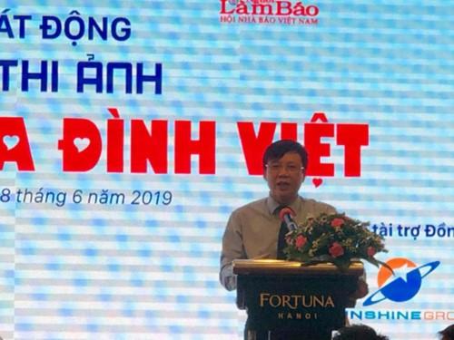 Nhà báo Hồ Quang Lợi - Phó Chủ tịch thường trực Hội Nhà báo Việt Nam mong tất cả những ngày trrong năm đều là Ngày gia đình, ngày của thương yêu, đùm bọc... tin rằng cuộc thi sẽ lan tỏa những điều tốt đẹp đó.
